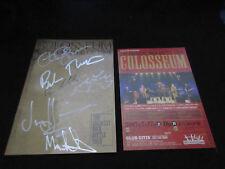Colosseum 2007 Signed Japan Tour Book Program Tempest Chris Farlowe Jon Hiseman