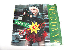 MADONNA CAUSING A COMMOTION/JIMMY JIMMY 1987 7'' 45 RPM VINYL RECORD