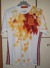 Spain 2015 - 2017 Away Football Shirt Jersey Camiseta Adidas size M