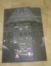 Malaysia 2011 - 100 Years Aviation Transport Airplane EMPTY Stamp FDC Folder