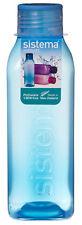 Sistema Cuadrado 725ml Botella Azul Agua Jugo COLEGIO SPORT GYM SIN BPA NUEVO