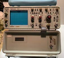Tektronix 2336 100 MHz Oscilloscope W/Tektronix Probes & Acc.