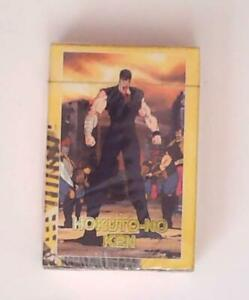 Fist of the North Star Hokuto-No Ken Playing cards - Sealed