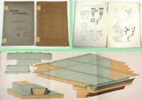 Zinkbleche als Baumaterial + Das Zinkblech und seine Verwendung 1912 Dachdecker