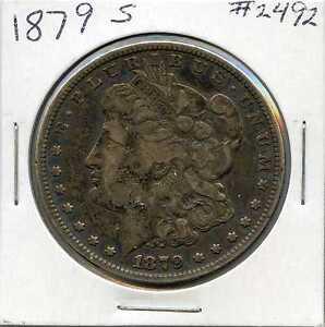 1879-S Morgan Silver Dollar. Circulated. Lot #2178