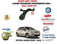 Pour Toyota Auris JT 2006-2012 Droit Côté Bras de Suspension + Balle Joint