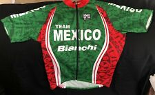 Cycling Jersey - SMS Santini Brand - Team Mexico - Size 52 XXL Green Red
