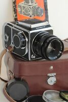 Salut-S (Kiev-88) Camera 6x6 lens Vega-12v 2.8/90 lens USSR Soviet Vintage