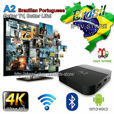 A2 Portuguese Version TV Box Brazilian live TV IPTV drama/shows/movies | HTV5