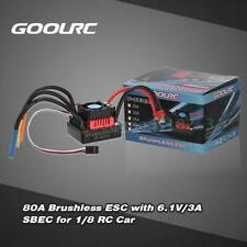 GoolRC S-80A Brushless ESC Electric Speed Controller with 6.1V/3A SBEC for R5J2