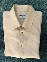 luxueuse chemise lin beige THIERRY MUGLER taille 39 (S) EXCELLENT ÉTAT