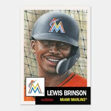 2018 Topps Living Set #33 ~ Lewis Brinson ~ In Stock!