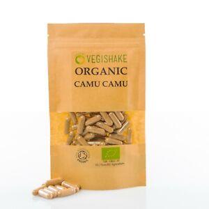 Organic Camu Camu HPMC Capsule Vitamin C Raw Fruits Powder Vegan Halal Kosher