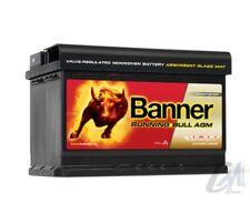 BATTERIA AUTO BANNER RUNNING BULL AGM START&STOP 70Ah 720A 12V 278x175x190