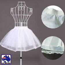 White Petticoat Under Skirt Mesh Evening Party Costume TUTU Bunny WDIS25610