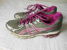 Asics GT 2170 Running Shoes 7.5 Gray Silver Purple Womens Womans