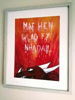 '...Yn Annwyl I Mi' Original Welsh Painting By Burt
