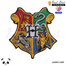 Harry Potter Hogwarts Embroidered Iron On Sew On PatchBadge For Clothes
