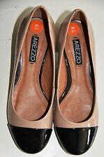 Vestido De Noche nuevo Diseñador Arezzo scarpin Bicolor Clásico Uk 2.5 Zapatos De Oficina