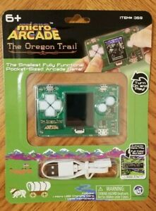 Micro Arcade THE OREGON TRAIL Smallest Fully Functional Pocket Sized Arcade Game