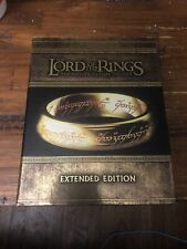New ListingThe Lord Of The Rings Trilogy Blu-Ray 15 Disc Extended Edition Collectors Set