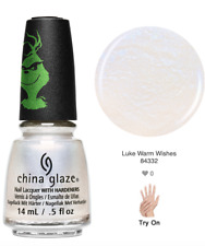 China Glaze Nail Lacquer THE GRINCH Collection Ready To Wear -Lukewarm Wishes