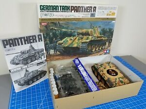 Tamiya 1/25 RC German Tank Pather #56601 DMD Controller Unit T02 + color paint