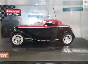 Carrera Evolution 27201 '32 Ford Hot Rod Supercharged, 1/32 Slot
