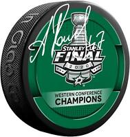Alexander Radulov Dallas Stars Signed 2020 Western Conference Champs Hockey Puck