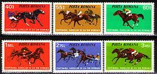 Romania 1974 Sc2475-80 Mi3182-87 6v  mnh  Centenary of horse racing in Romania