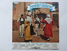"25 cms 10"" danses de Provence et du Languedoc CIGALOUN ARLATEN 250V050"