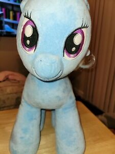 Build A Bear Workshop My Little Pony Trixie Plush Light Blue Unicorn Alicorn...