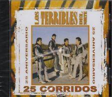 Los Terribles del Norte 25 Corridos CD New Nuevo Sealed