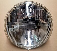 """7"""" Halogen 6V Glass Sealed Beam Head Lamp with Free Wiring Harness"""