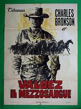 M70 MANIFESTO 2F VALDEZ IL MEZZOSANGUE CHARLES BRONSON WESTERN