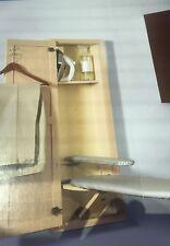 NIB Hide Away Sup400 Oak Built-In Recessed Wooden Supreme Series Ironing Board