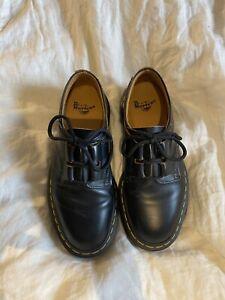 Dr Martens 1461 Ghillie Black Leather Shoes Size 3