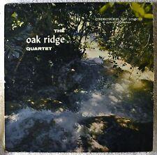 The Oak Ridge Quartet 1st Press Black Rare Checker Gospel LP Low End Plays OK