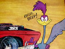 1969 PLYMOUTH ROAD RUNNER ORIGINAL AD *door/hood/seat/steering wheel/426 Hemi v8