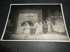 1914 FOTOGRAFIA FILM MUTO LA PORTATRICE DI PANE VESUVIO FILMS ROMOLO BACCHINI