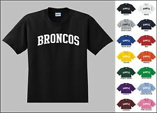 Broncos Football Youth T-shirt