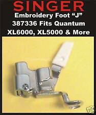 "SINGER Embroidery Foot ""J"" Fits XL100, XL150, XL1000, XL5000, XL6000 # 387336"