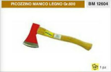 ASCIA PICOZZINO spaccalegna CON MANICO IN LEGNO 600 gr PROFESSIONALE