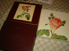 vintage shabby chic table mats set lady claire 2 sets roses total 12 mats retro