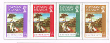 Cayman Islands Art Titian Famous Paintings set Easter 1970 MLH