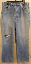 VIntage Levis Men's Orange Tab 517 Bootcut Jeans Size 36 Waist 30 Inseam