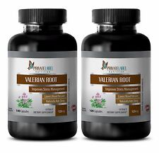 Good For Sleep - VALERIAN ROOT EXTRACT 125mg - Improving The Nervous System 2B