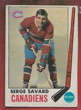 1969-70 OPC**SERGE SAVARD**ROOKIE RC#4 VG (MONTREAL CANADIENS) !