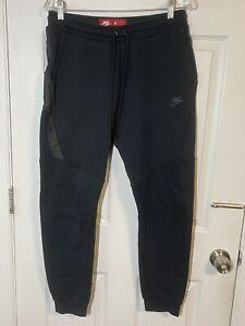 Nike Sportswear Tech Fleece Men's Joggers - Black/Black, Size M