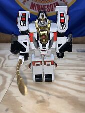 Mighty Morpin Power Rangers White Tigerzord - Used
